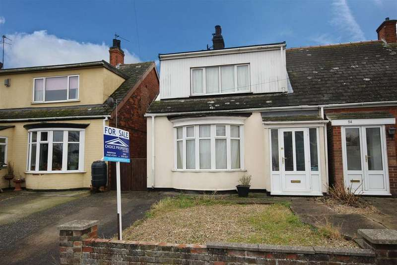 3 Bedrooms Semi Detached Bungalow for sale in Regent Road, Mablethorpe