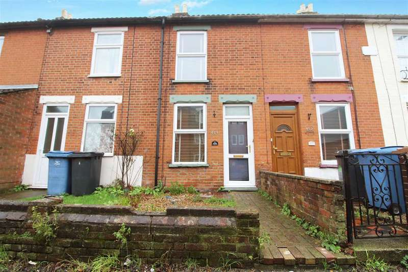 2 Bedrooms Terraced House for sale in Spring Road, Ipswich