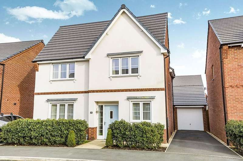 4 Bedrooms Detached House for sale in New Mill Street, Eccleston, Chorley, PR7