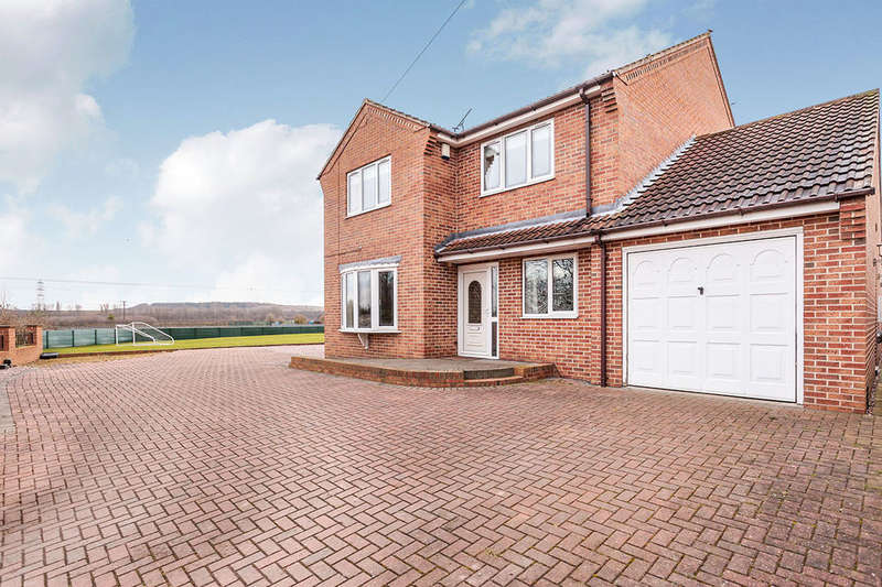 4 Bedrooms Detached House for sale in Wrights Lane, Cridling Stubbs, Knottingley, WF11