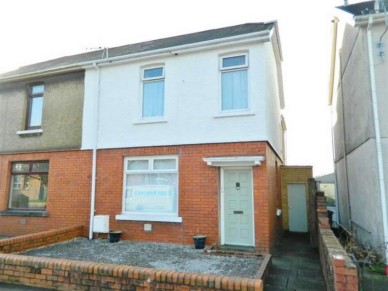 2 Bedrooms Semi Detached House for sale in Armine Road, Fforestfach