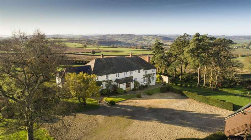 5 Bedrooms Detached House for sale in Bewley Down, Axminster, Devon, EX13