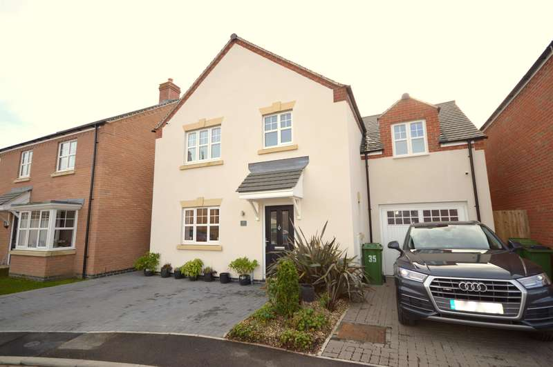 4 Bedrooms Detached House for sale in Church Farm Close, Cosby, Leicester, LE9 1RW