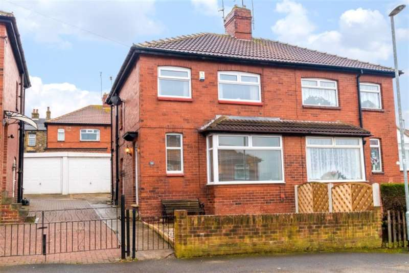 3 Bedrooms Semi Detached House for sale in Pembroke Road, Pudsey, LS28