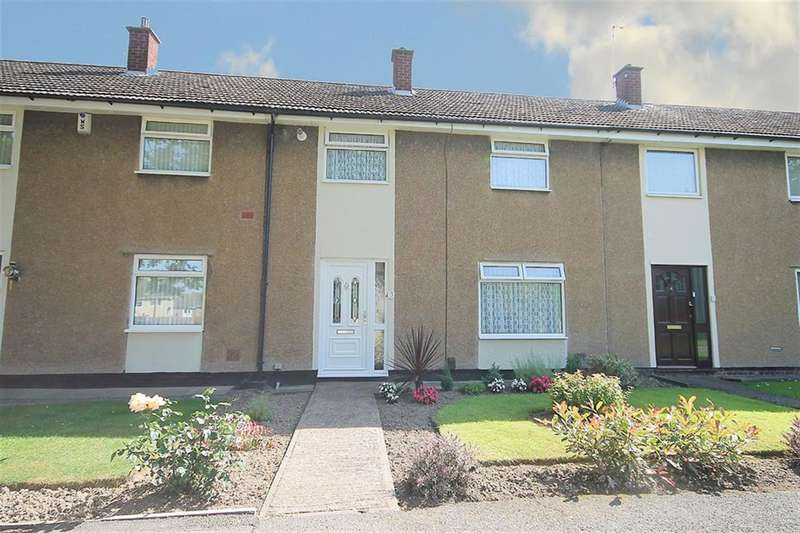 3 Bedrooms Terraced House for sale in Cottage Walk, Wilnecote, Tamworth B77 5NB