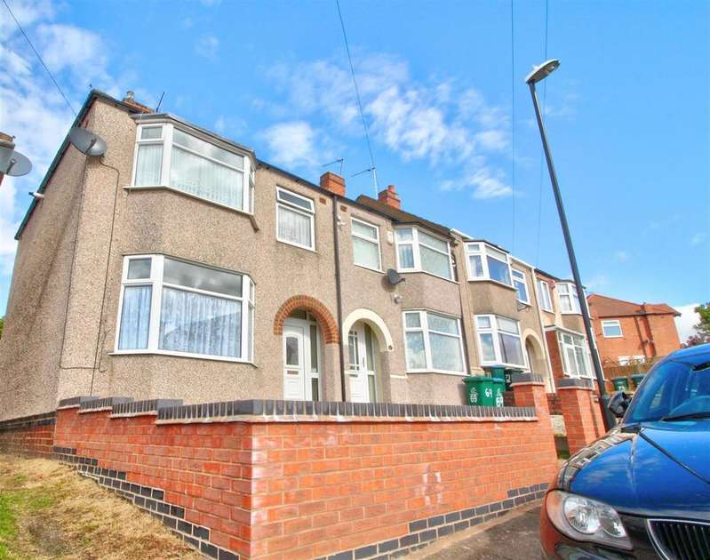 3 Bedrooms End Of Terrace House for sale in Cornelius Street, Cheylesmore, Coventry
