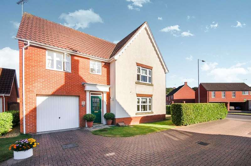 4 Bedrooms Detached House for sale in Charlock Road, Thetford