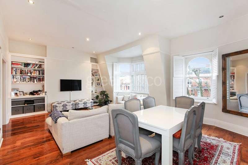 2 Bedrooms Flat for sale in Elgin Mansions, Elgin Avenue, London, W9