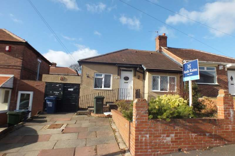 2 Bedrooms Semi Detached Bungalow for sale in Broomridge Avenue, Newcastle Upon Tyne, NE15