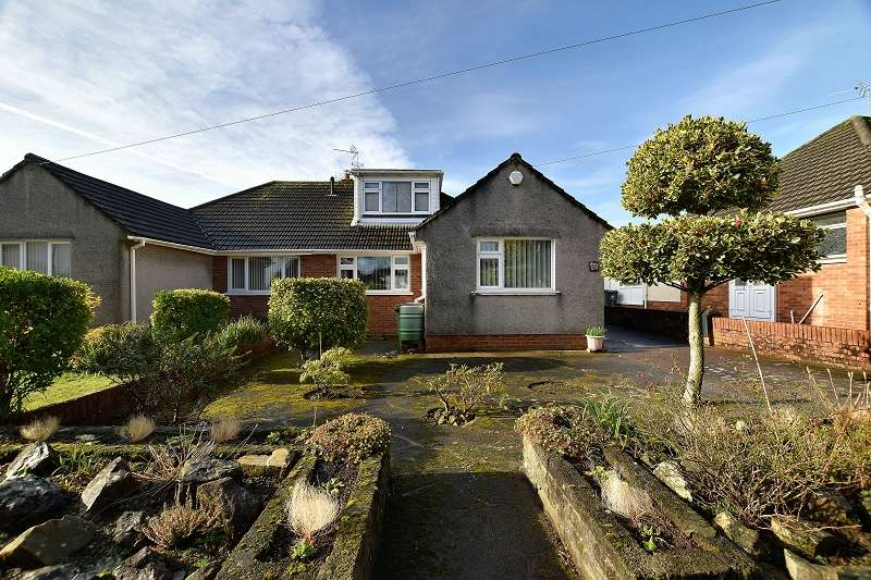 3 Bedrooms Semi Detached Bungalow for sale in Clos Ton Mawr , Rhiwbina, Cardiff. CF14 6RH
