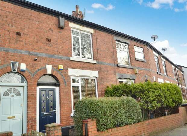 2 Bedrooms Terraced House for sale in Bramhall Lane, Davenport, Stockport, Cheshire