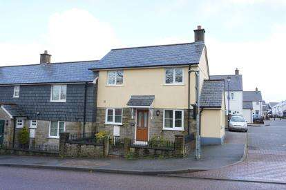 2 Bedrooms End Of Terrace House for sale in Roche, St Austell, Cornwall