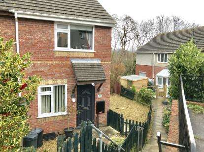 2 Bedrooms Semi Detached House for sale in Torpoint, Cornwall, United Kingdom