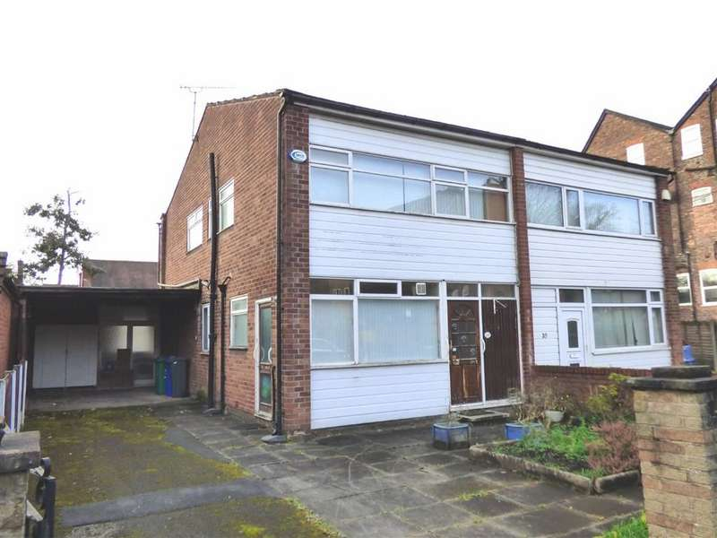 3 Bedrooms Semi Detached House for sale in Circular Road, Didsbury, Manchester, M20