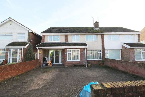 5 Bedrooms Semi Detached House for sale in Woodland Place, Bridgend, Glamorgan, CF33 4EW