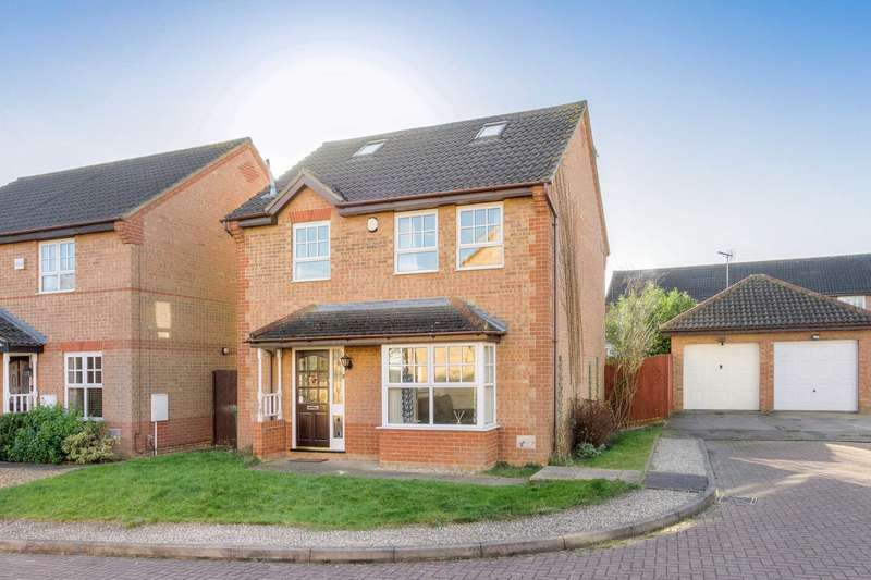 5 Bedrooms Detached House for sale in Emmett Close, Emerson Valley