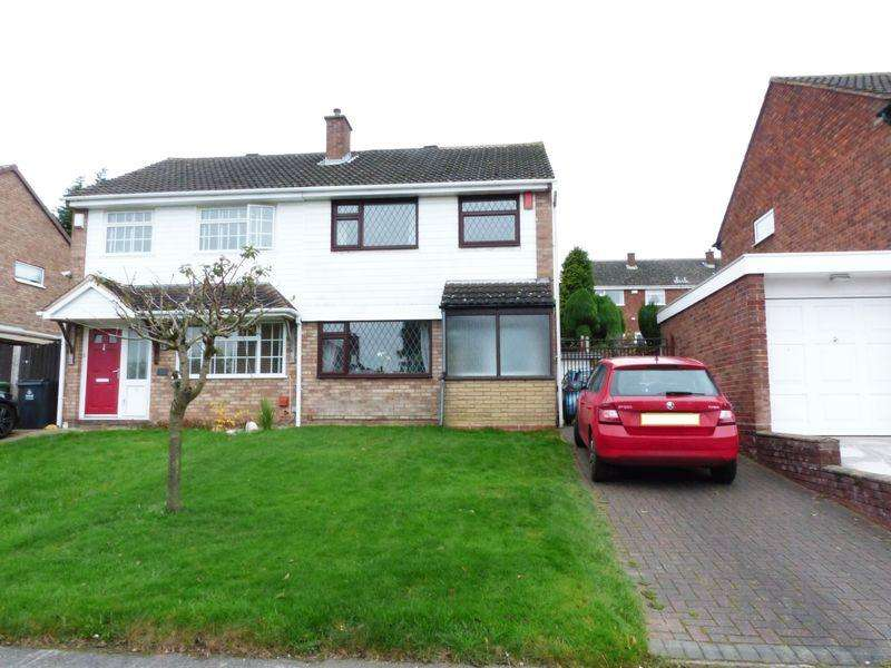 3 Bedrooms Semi Detached House for sale in Whitethorn Crescent, Streetly