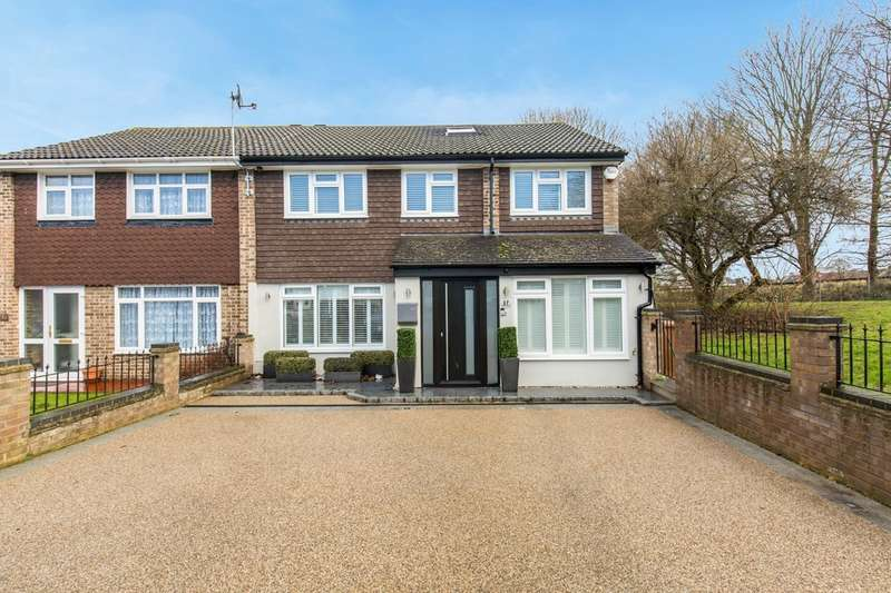 4 Bedrooms Semi Detached House for sale in Nicholas Road, Croydon, CR0 4QS