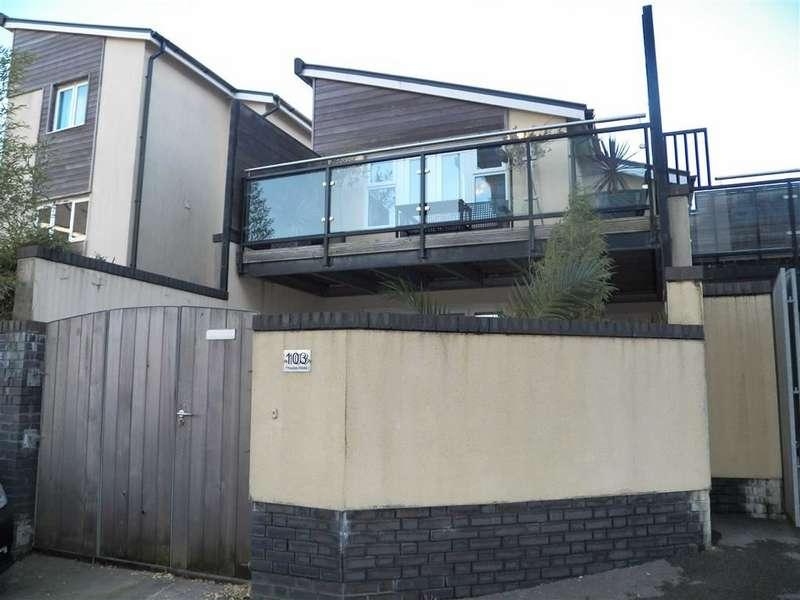 2 Bedrooms Link Detached House for sale in Phoebe Road, Copper Quarter, Pentrechwyth