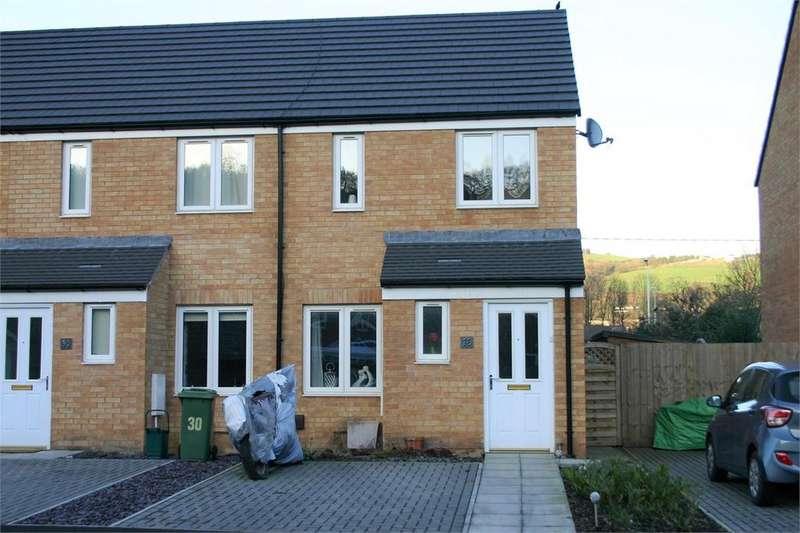 2 Bedrooms End Of Terrace House for sale in 28 Ymyl Yr Afon, Hawthorn, Pontypridd, Rhondda, Cynon, Taff, CF37 5AZ