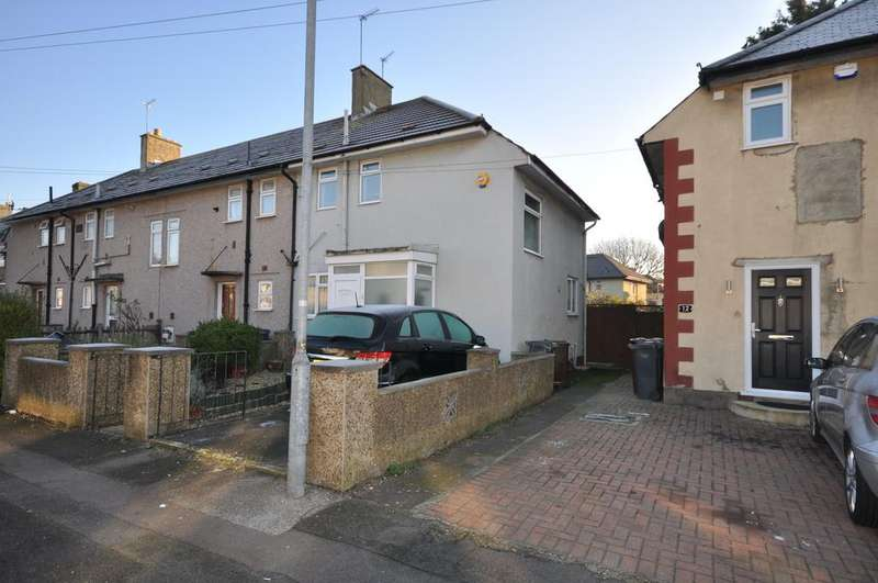 2 Bedrooms End Of Terrace House for sale in Crossway, Dagenham
