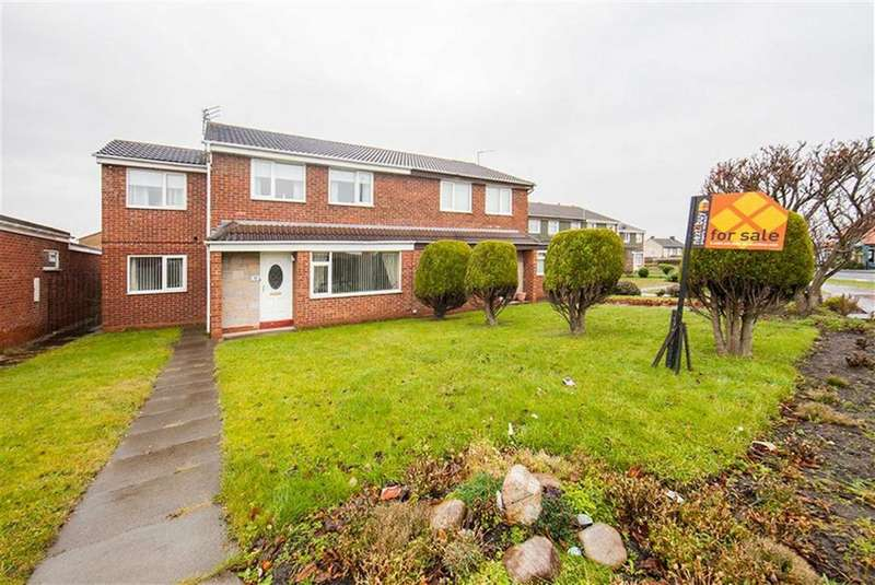 4 Bedrooms Semi Detached House for sale in Farndale, Hadrian Lodge West, Wallsend, NE28