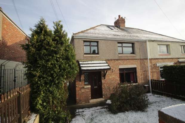 3 Bedrooms Semi Detached Bungalow for sale in Derwent Road, Ferryhill, Durham, DL17 8HF