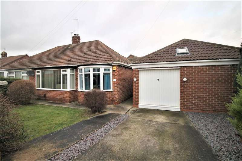 2 Bedrooms Semi Detached Bungalow for sale in Virginia Gardens, Middlesbrough