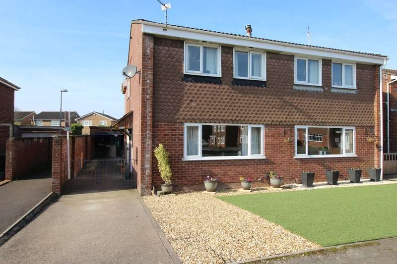 4 Bedrooms Semi Detached House for sale in Butterfield Park, Clevedon, BS21