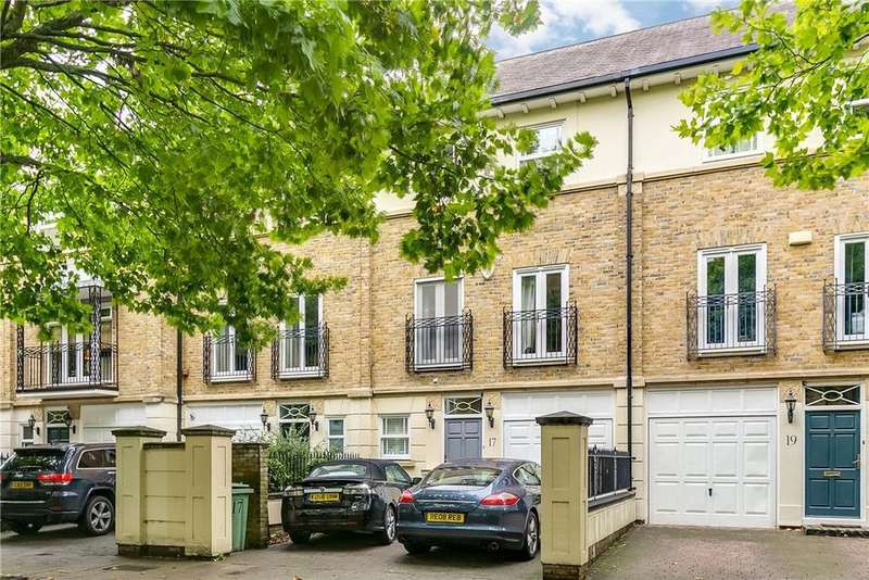 4 Bedrooms Terraced House for sale in Wyatt Drive, London, SW13
