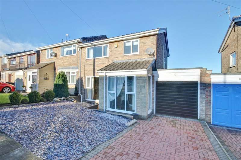 3 Bedrooms Semi Detached House for sale in Winchester Road, Newton Hall, Durham, DH1