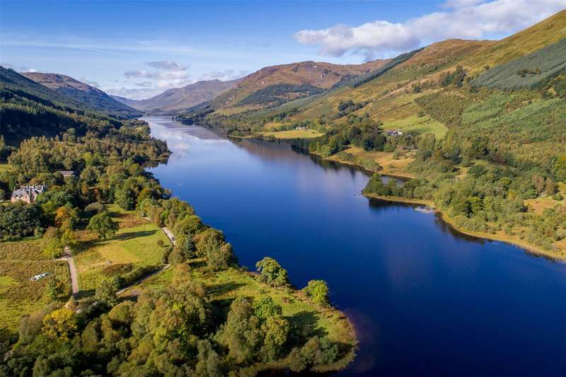 Land Commercial for sale in Stronvar Development Plot 7, Balquhidder, Lochearnhead, Stirlingshire, FK19