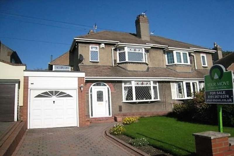 3 Bedrooms Semi Detached House for sale in The Roman Way, West Denton, Newcastle Upon Tyne, NE5