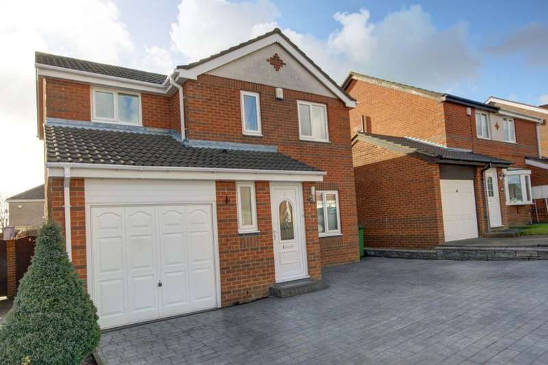3 Bedrooms Detached House for sale in Chigwell Close, Penshaw, Houghton Le Spring, DH4