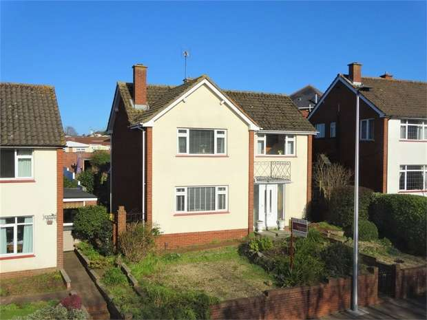 3 Bedrooms Detached House for sale in Sidmouth Road, EXETER, Devon