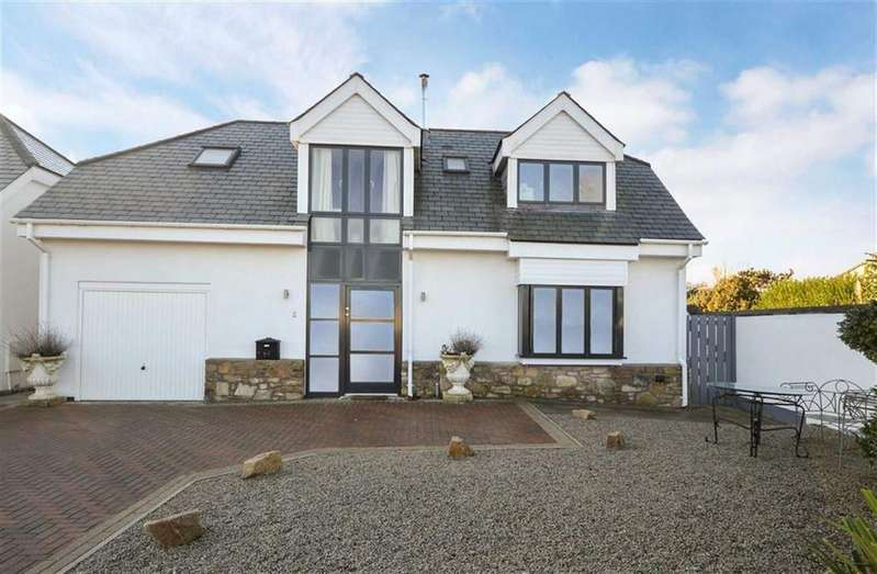 3 Bedrooms Detached House for sale in Mount Hawke, Mount Hawke, Truro, Cornwall, TR4