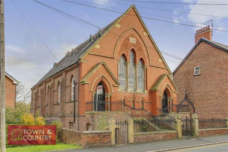 2 Bedrooms Flat for sale in St Johns Church, Connahs Quay, Deeside, Flintshire