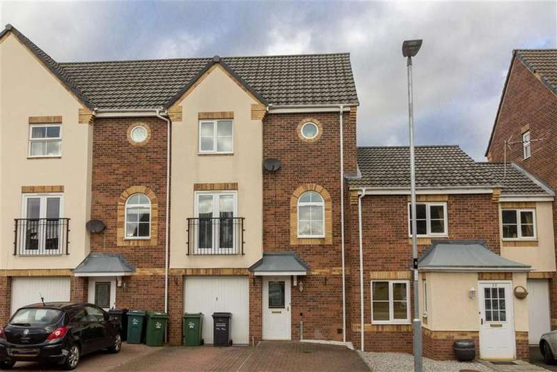 3 Bedrooms Terraced House for sale in Goods Yard Close, Loughborough, LE11