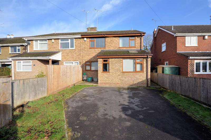 4 Bedrooms Semi Detached House for sale in Brading Way, Purley On Thames, Reading