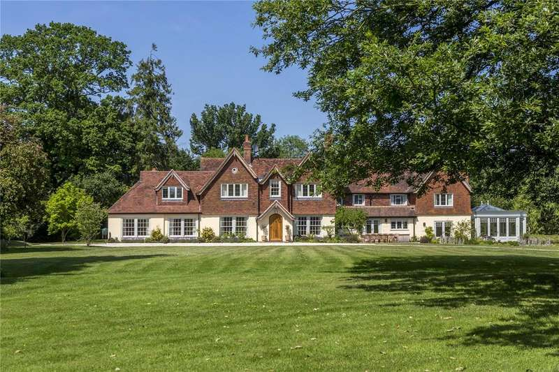 6 Bedrooms Equestrian Facility Character Property for sale in Ecchinswell, Hampshire, RG20