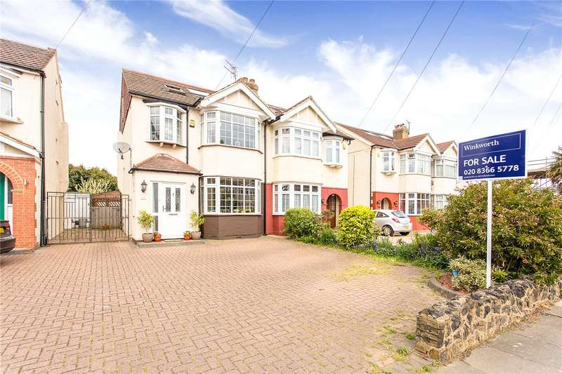 4 Bedrooms Semi Detached House for sale in Willow Road, Enfield, EN1