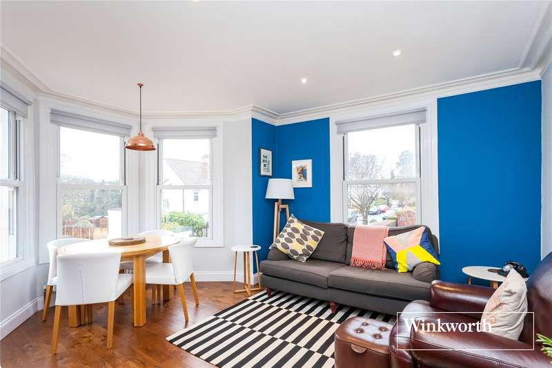 2 Bedrooms Flat for sale in Elm Park Road, Finchley, London, N3