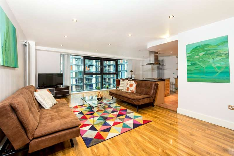 2 Bedrooms Apartment Flat for sale in Millharbour, South Quay, Isle Of Dogs, London, E14