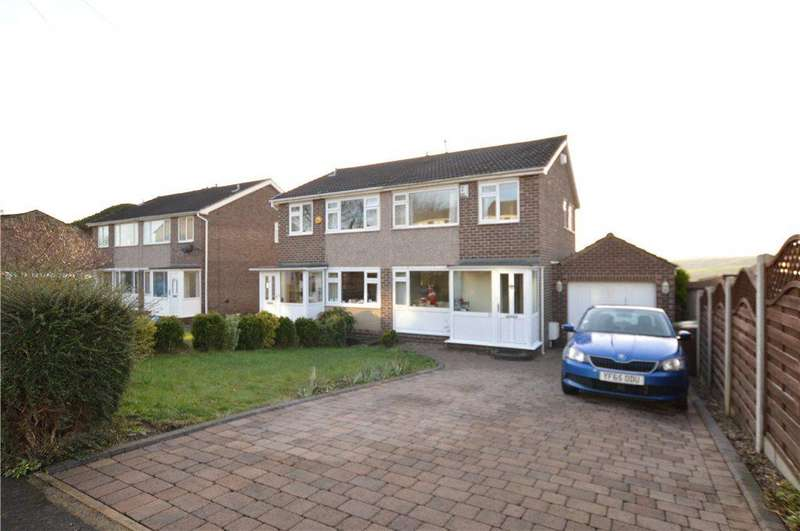 3 Bedrooms Semi Detached House for sale in Valley View Road, Ossett, West Yorkshire