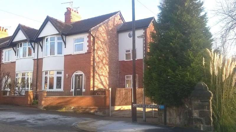 5 Bedrooms Semi Detached House for sale in Hungerford Terrace, Crewe