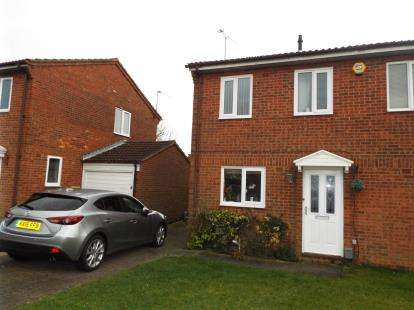 2 Bedrooms Semi Detached House for sale in Linbridge Way, Luton, Bedfordshire