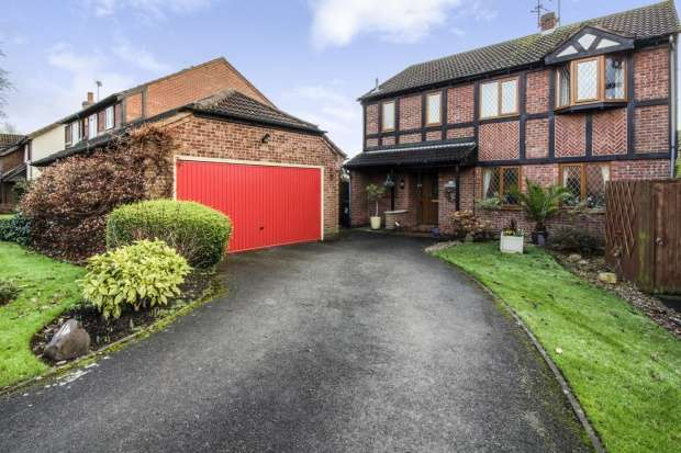 4 Bedrooms Detached House for sale in Spindletree Drive, Derby, Derbyshire, DE21 2DG