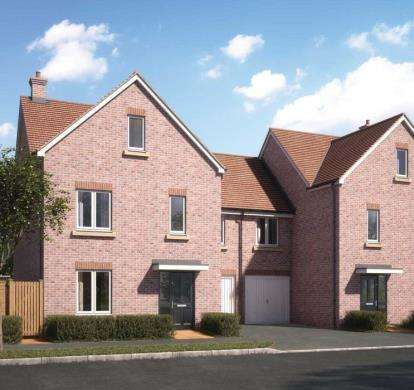 4 Bedrooms Semi Detached House for sale in Bramley Road, Aylesbury