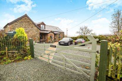 2 Bedrooms Barn Conversion Character Property for sale in Nantyr, Llangollen, Wrexham, LL20