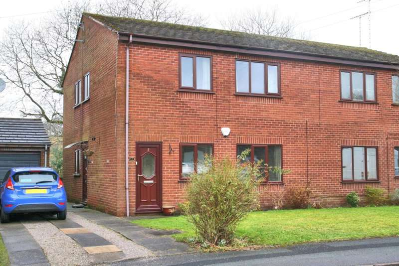 2 Bedrooms Apartment Flat for sale in Riverbank Close, Bollington